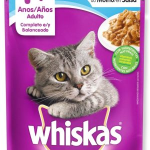 WHISKAS SALMON 85 GRAMOS